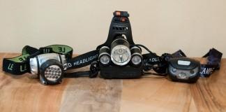 Drei Stirnlampen stellen sich dem großen Reiter-Wissen.com-Test - welche schneidet am besten ab?
